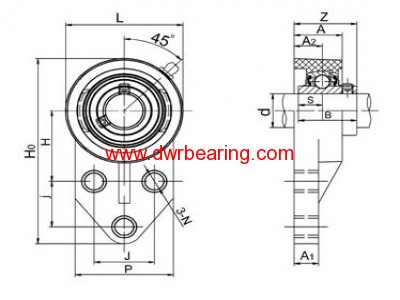 THERMOPLASTIC BEARING UNITS-TP-SUCFB200
