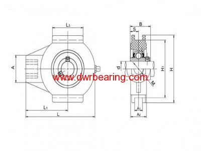 THERMOPLASTIC BEARING UNITS-TP-SUCT200